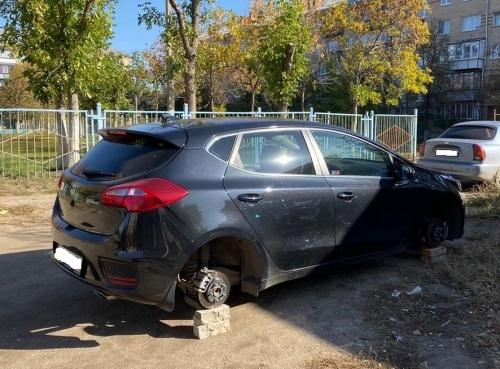 Все четыре колеса. Сотрудники южноуральской полиции раскрыли кражу по горячим следам