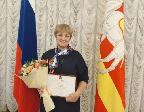 Поздравляем! Увельский педагог признана одним из лучших работников образования Челябинской области