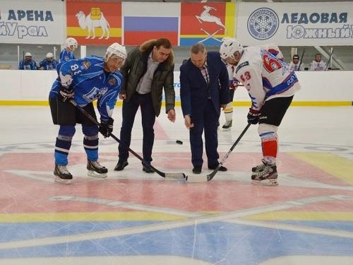 Мы начинаем! В Южноуральске открыли девятый сезон ночной хоккейной лиги