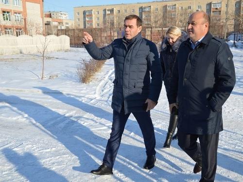 У области на контроле. В Южноуральске побывал вице-губернатор Евгений Голицын