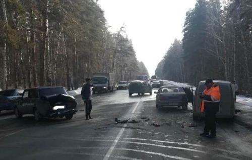 «Зацепила меня…» Челябинская автоледи устроила ДТП в Увельском районе
