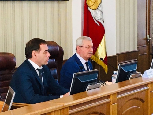 Из мэров – в замы. Александр Лазарев получил новую должность